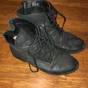 Other - MENS VINTAGE FAUX LEATHER BOOTS